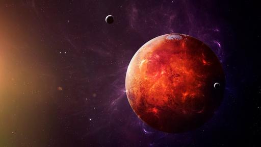 Mars, servir le Soleil