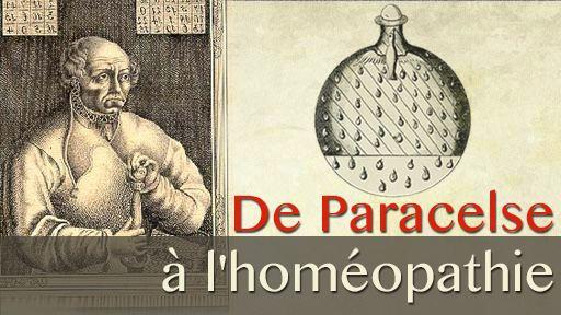 De Paracelse à l'homéopathie