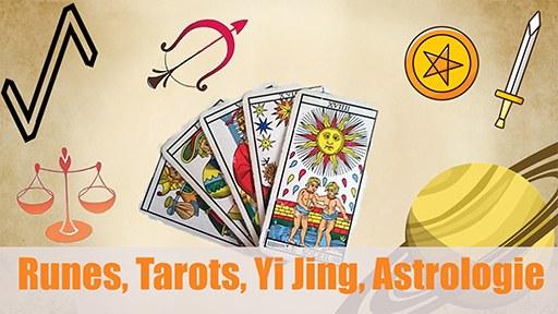 Runes, Tarots, Yi Jing, astrologie, voyance : qu'est-ce que les arts divinatoires ont à nous apprendre ?