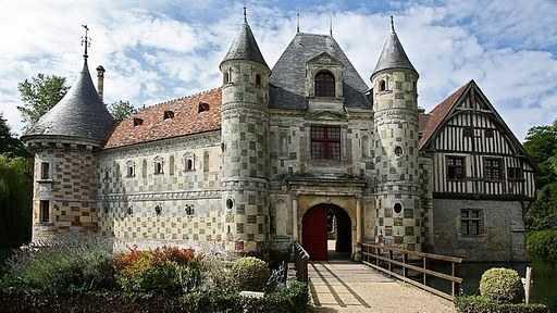 Chemins initiatiques en pays d'Auge : le château de Saint-Germain-de-Livet
