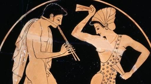 Un concert du VIème siècle avant notre ère : Kataulein, Eros par l'ensemble Melpomen