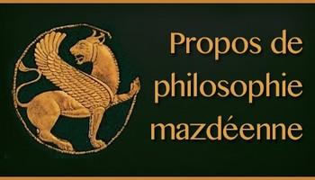 Le combat pour l'Ange, propos de philosophie mazdéenne