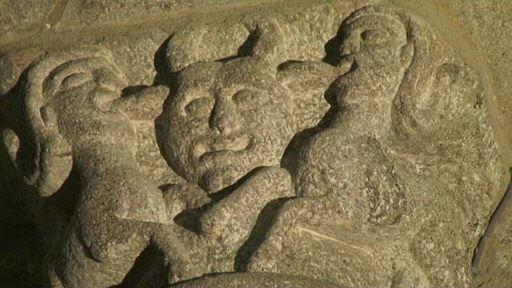 Bénévent-l'Abbaye: parcours à travers un livre de pierres
