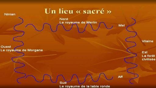 Géographie sacrée de la forêt de Brocéliande